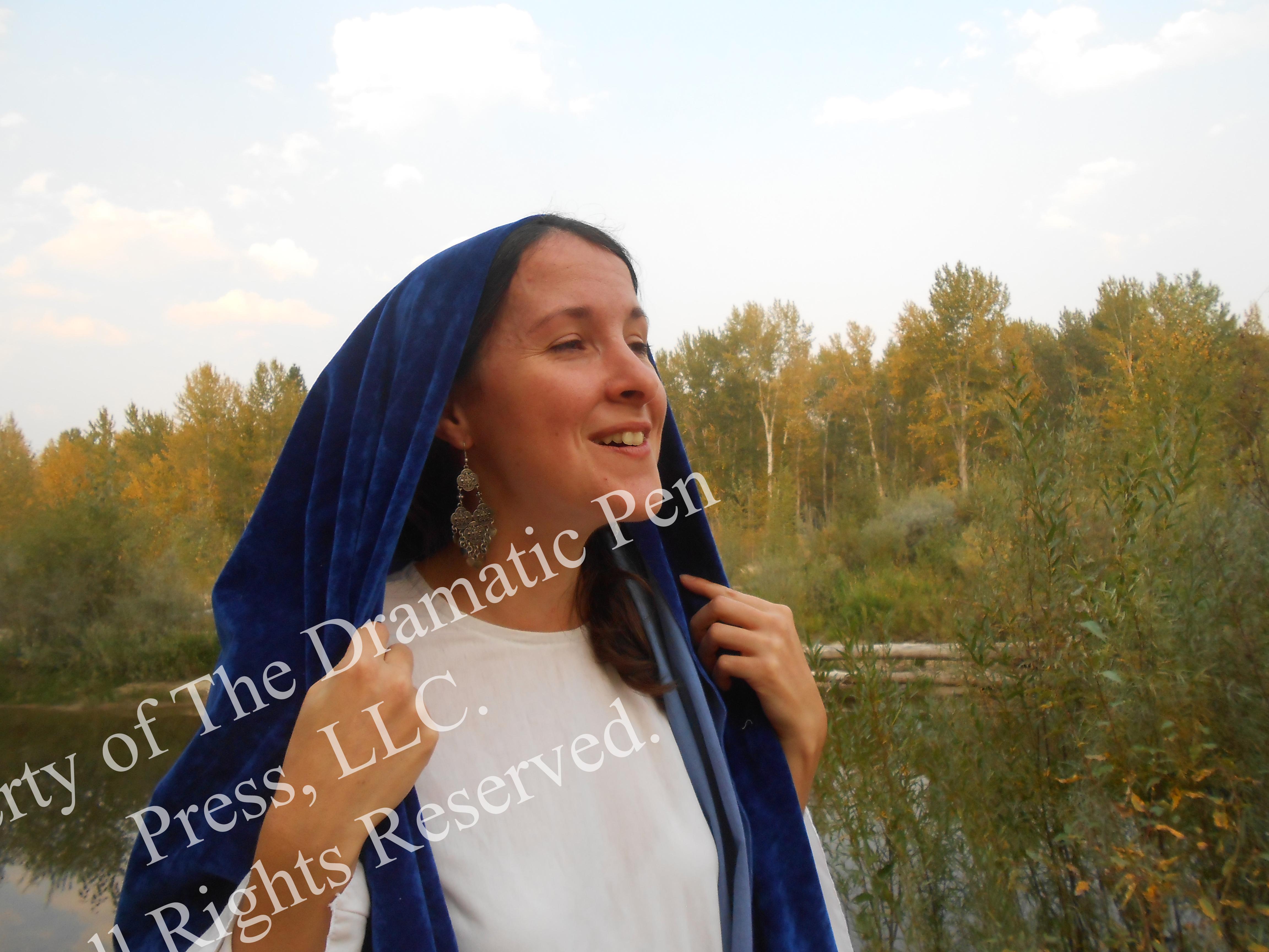 Biblical Woman Rejoices