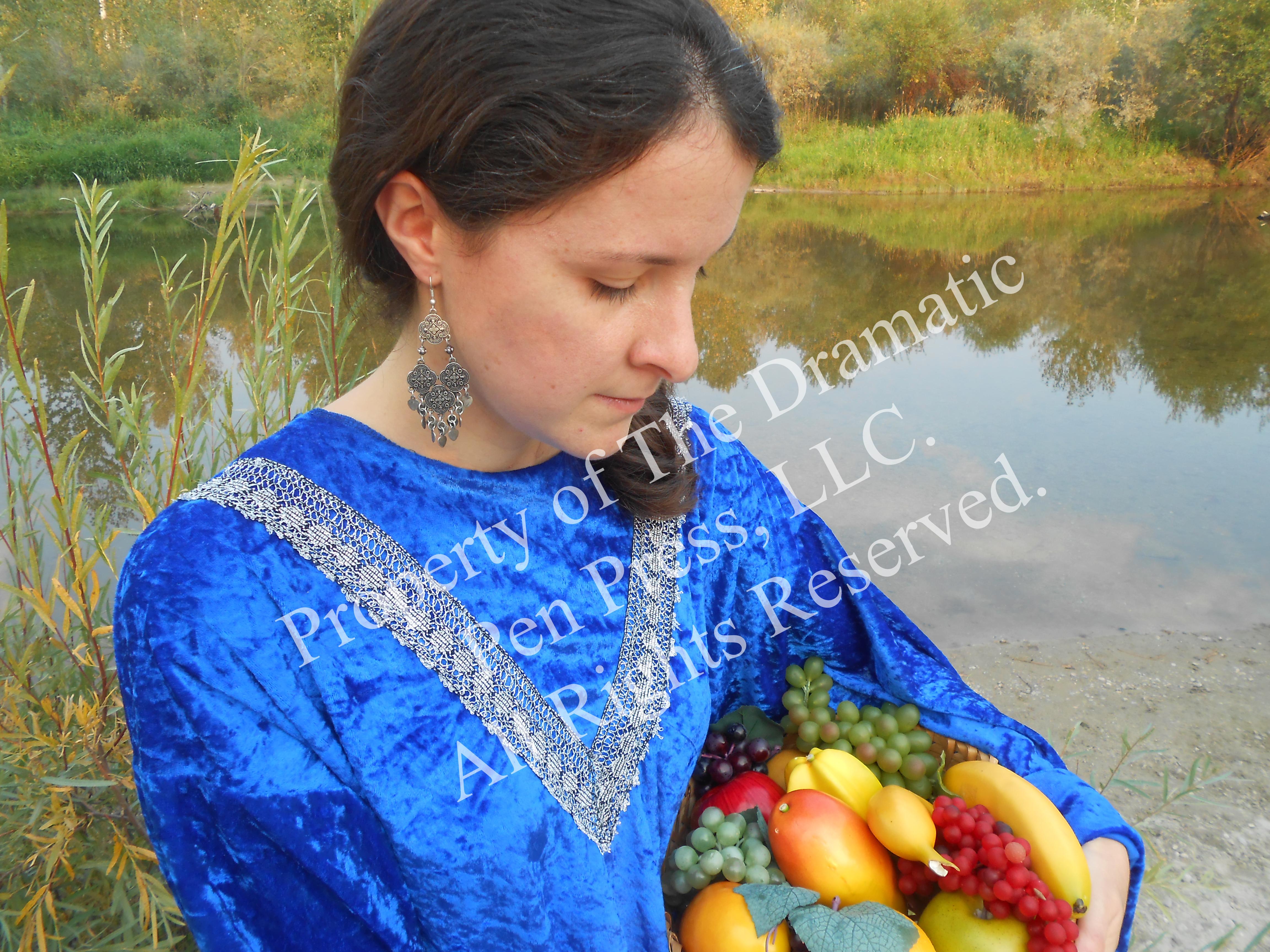 Biblical Woman Contemplative