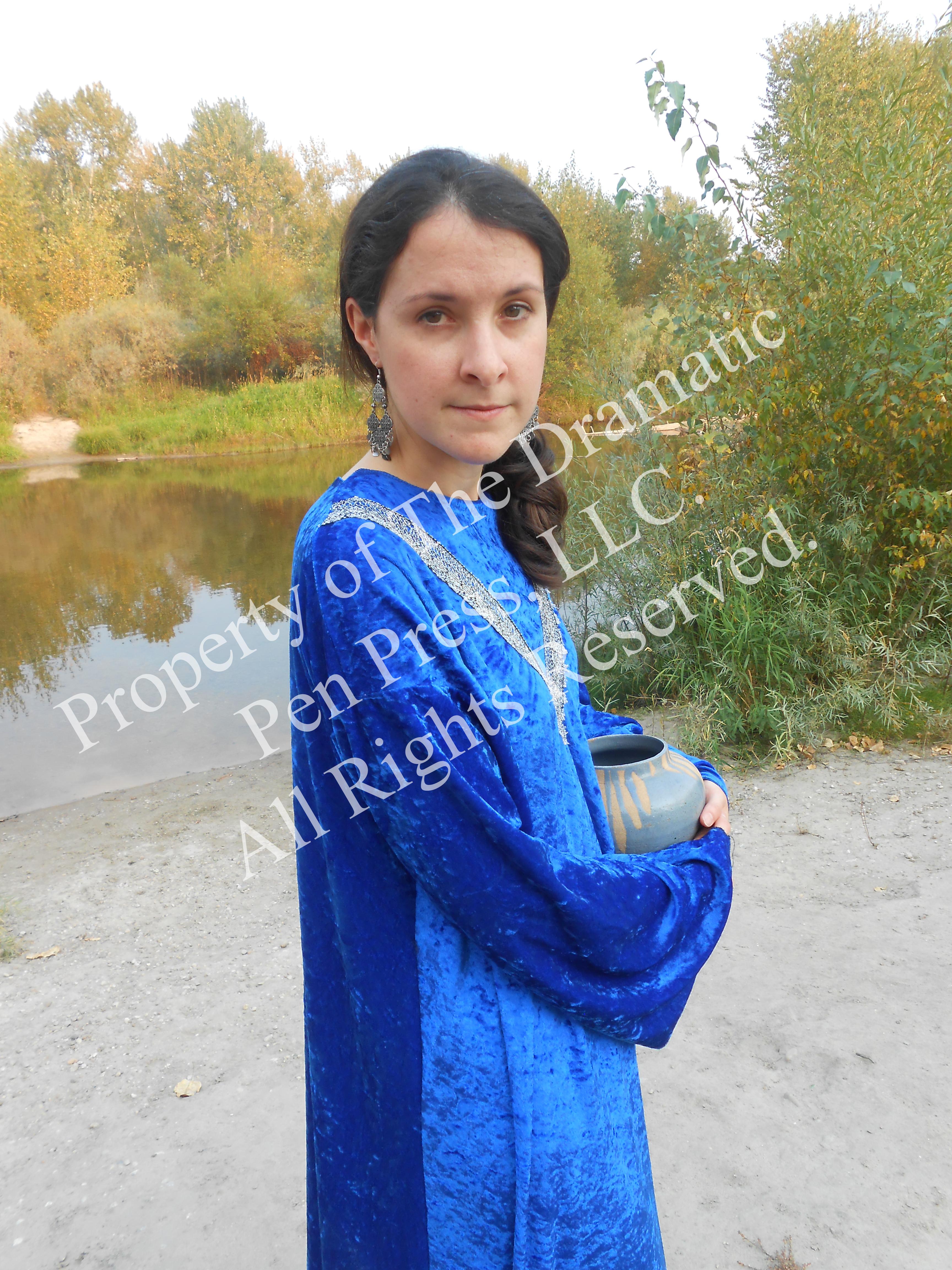 Biblical Woman With Pot
