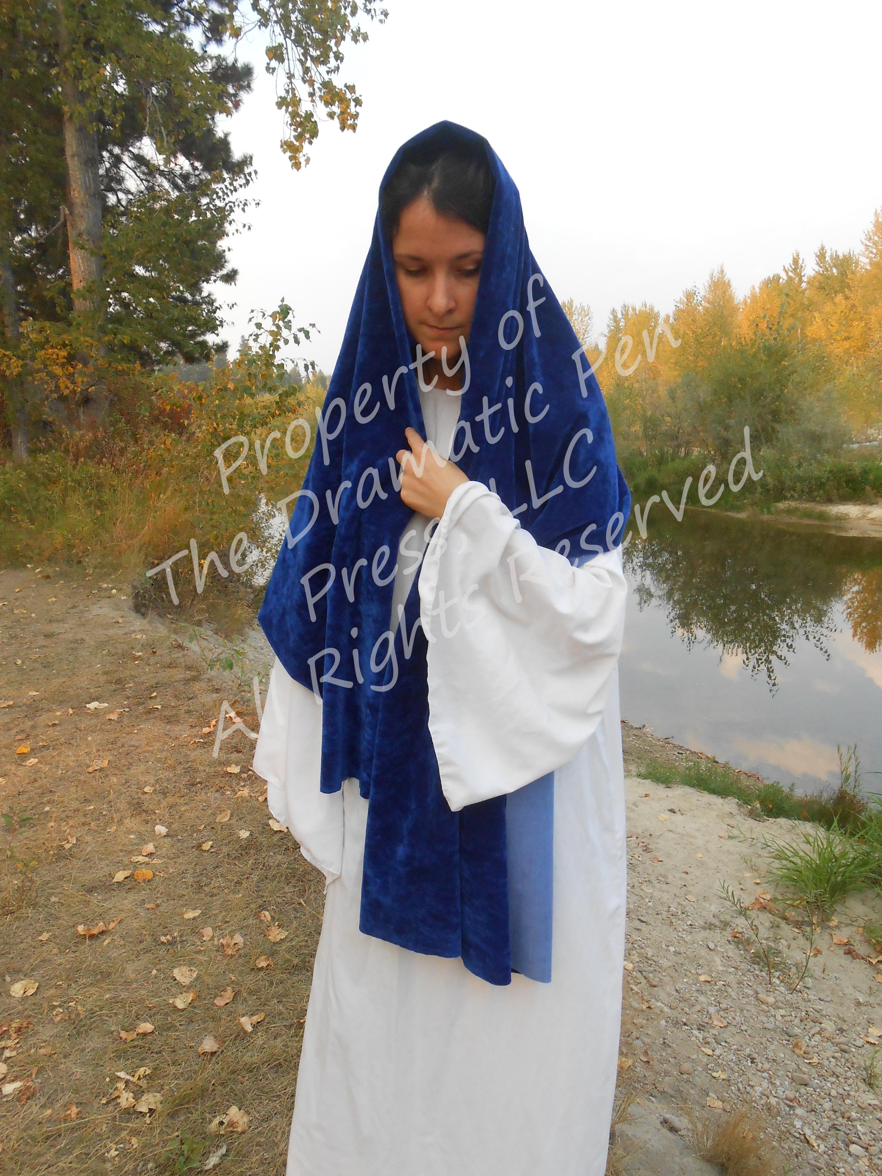 Biblical Woman by River Blue White