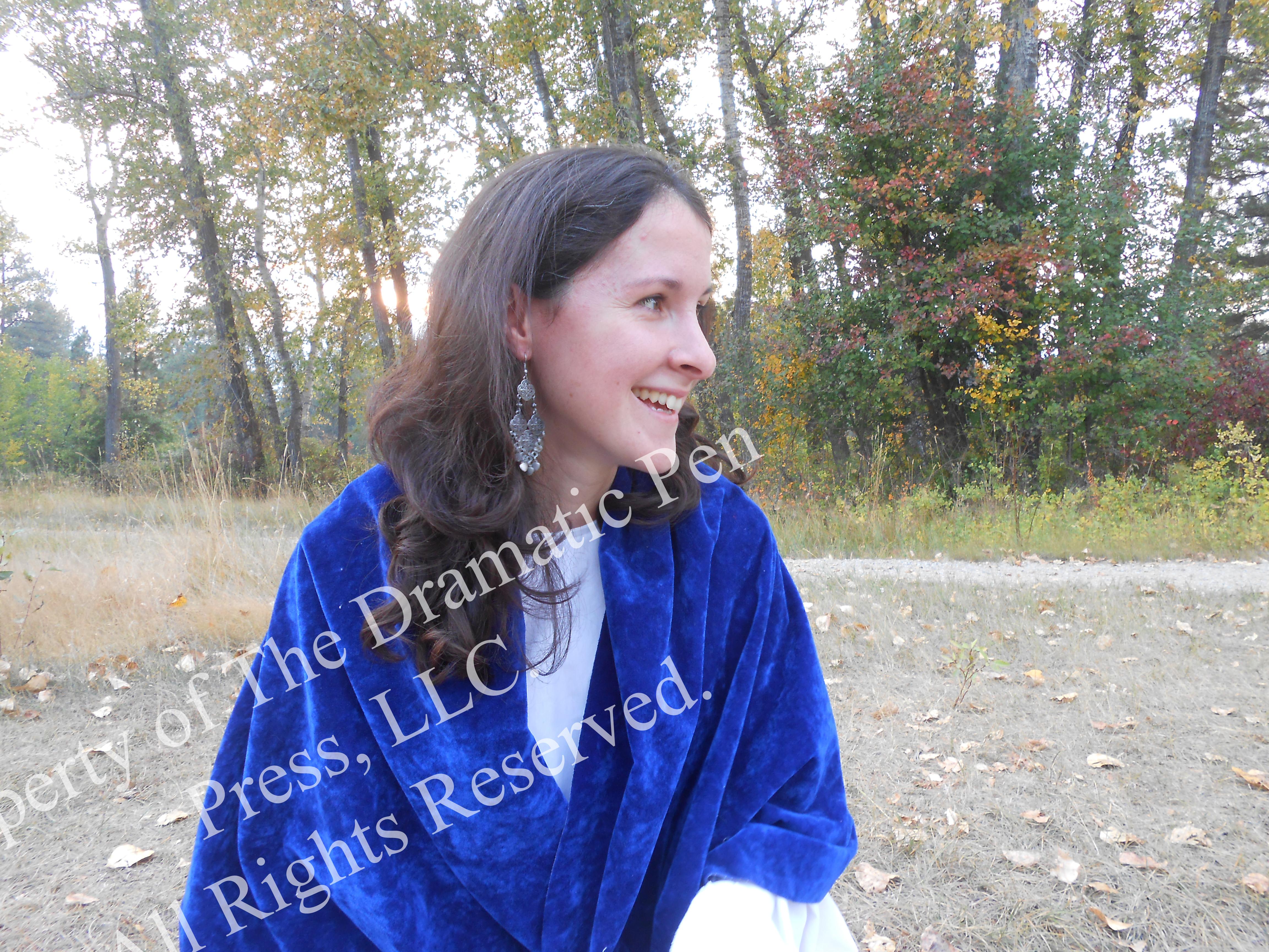 Bibilcal Woman Smiling Looking Away