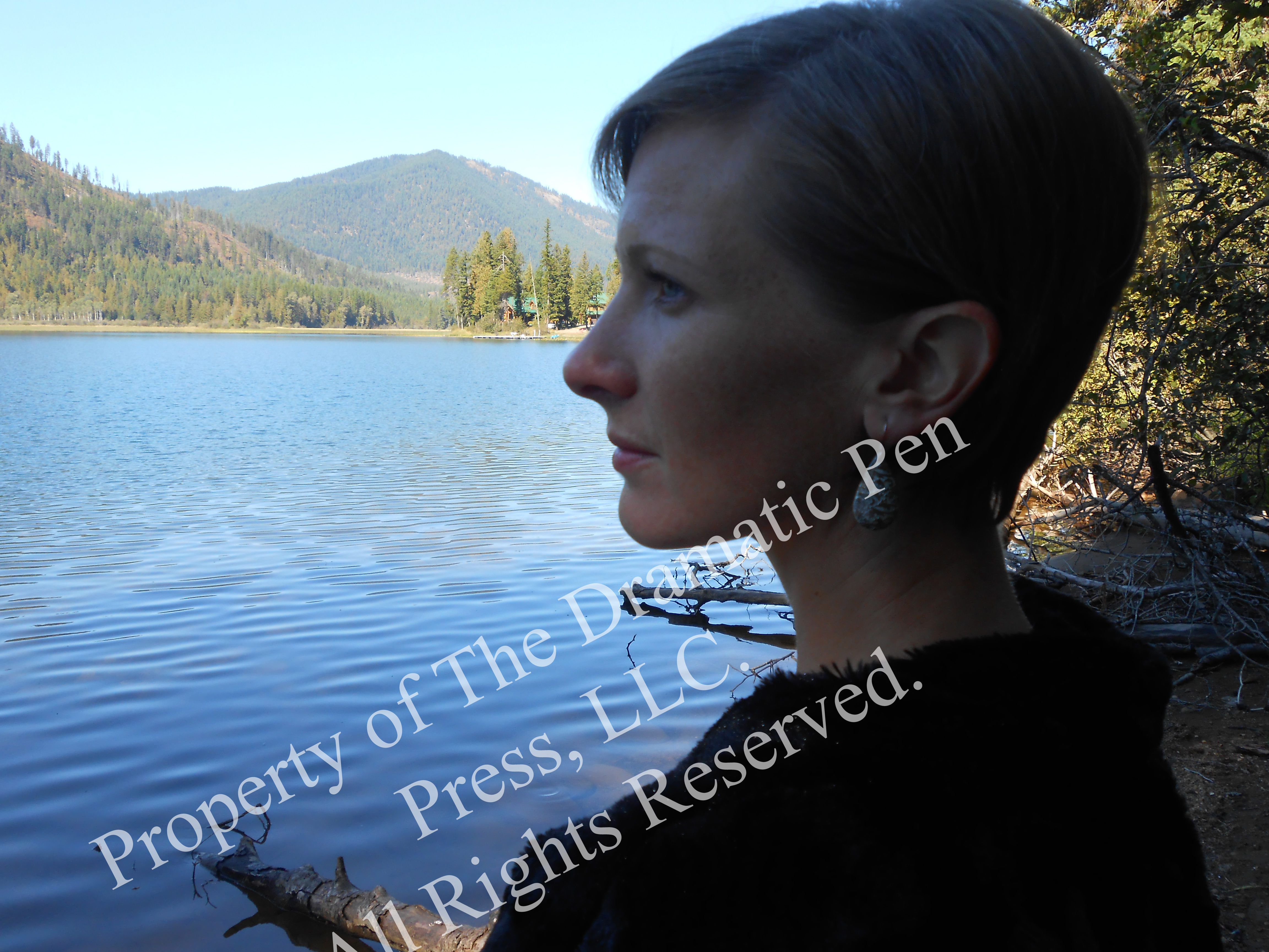 Pretty Girl by Lake