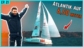 Über den Atlantik auf 6,50m! Lennarts Mini Rennziege im Detail und unter Segeln   BootsProfis #21