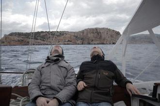 Segelboot besichtigen im Mittelmeer