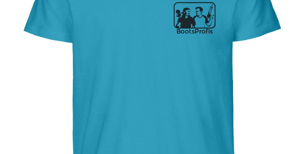 BootsProfis Logo  - Herren Premium Organic Shirt