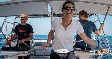 Skippertraining mit Julia und Markus.JPG