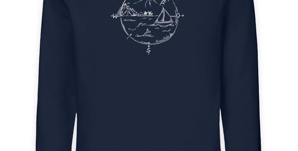 Domi's Tattoo als Kompass   - Unisex Organic Sweatshirt