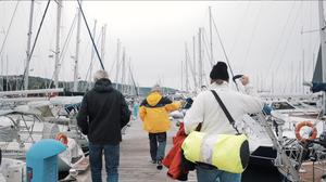 Bootsbesichtigung im Mittelmeer