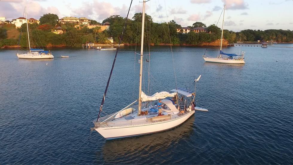 7seas vor Anker in Grenada