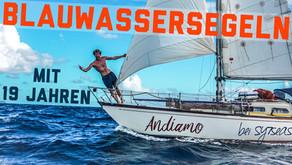 So finanzieren zwei 19 Jährige ihre Blauwasser Segelreise & über ihre Atlantiküberquerung   Sailing