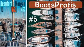 Segelboote besichtigen im Mittelmeer: ein sportlicher Klassiker & ein amerikanisches Schwergewicht  