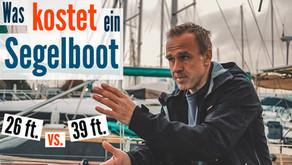 Was kostet ein Segelboot? 26 ft. vs. 39 ft. Vergleich der jährlichen Unterhaltskosten einer Yacht
