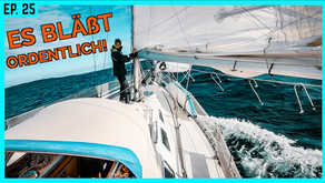 Wir müssen euch etwas erzählen... ENDLICH! Mit viel Wind Richtung Schweden   BootsProfis #25