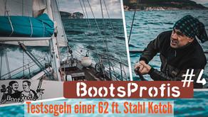 Test Segeln: 62 ft Stahl Ketch - Blauwasser Segelboot kaufen für 6-köpfige Familie   BootsProfis #4