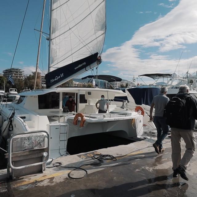 Ein Katamaran Für Die Weltumsegelung Der Kompromiss Aus Platz Und Segelleistung Bootsprofis 31