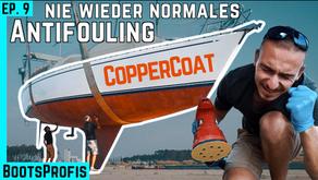 NIE WIEDER normales Antifouling! CopperCoat aufbringen & ab ins Wasser mit der 7seas! BootsProfis #9