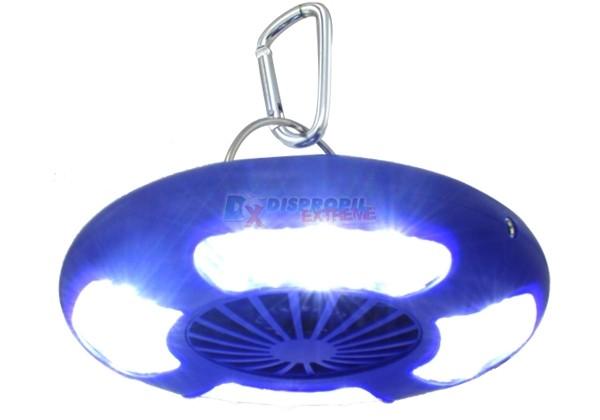 ventilador e lanterna