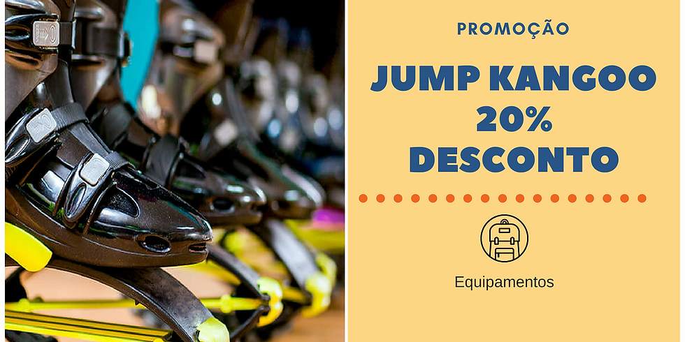 20% de deconto no Kangoo Jump