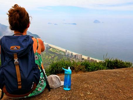 A vista mais bonita do Rio se chega a pé e de graça!