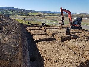 Excavator, Trenching, Footings, Construction, Excavations, Uni Civil, Unicivil, Digging, Civil
