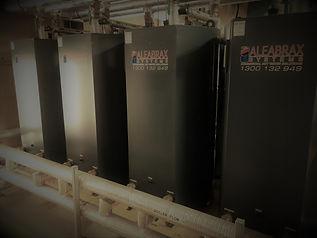 Aleabrax GFX Indirect Heat Exchange Tank Installation