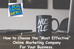 How to Choose the Right Online Marketing Company for Your Business