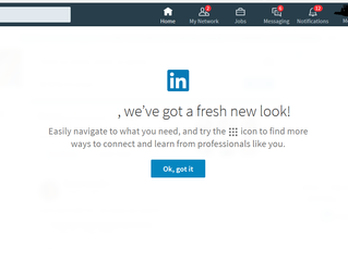 This Is New! LinkedIn's New Look, or should we call it, Sales Navigator?