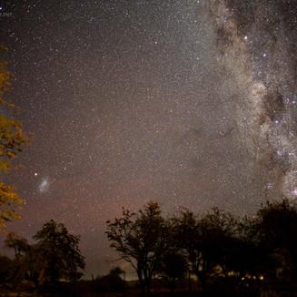 Milky Way & Magellanic Cloud