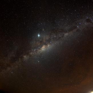 Milky Way, La Higuera
