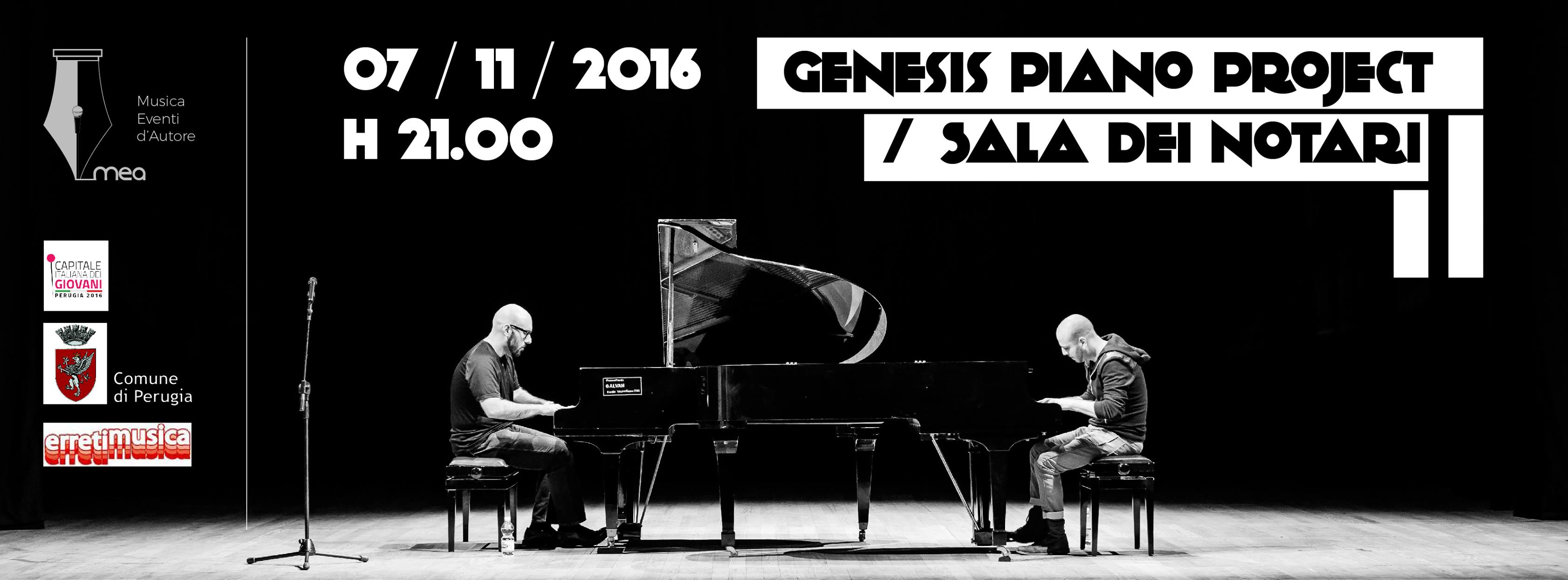GENESIS PIANO PROJECT