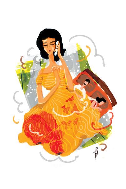 Illustration by Sanjib Bora