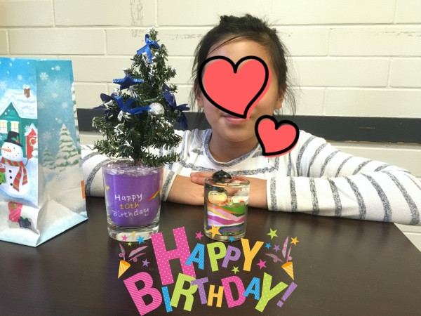 Private workshop for a 10 year-old girl's birthday parity