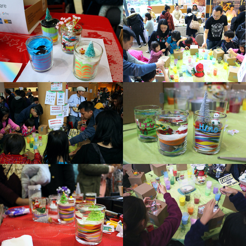 Sand Glass Art Walk-in Workshop at Nikkei Centre