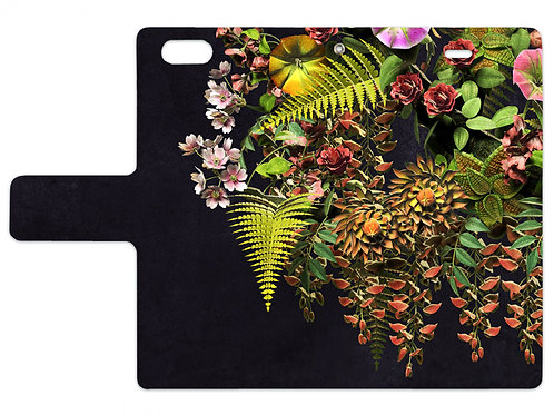 Flowers | Notebook style iPhone case (6/6s)