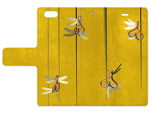 Dragonfly | Notebook style iPhone case (6/6s)
