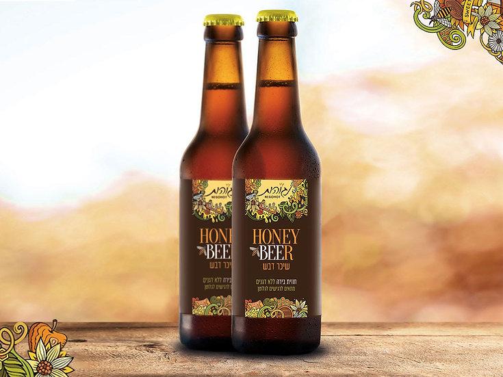 שישיית בירה מדבש