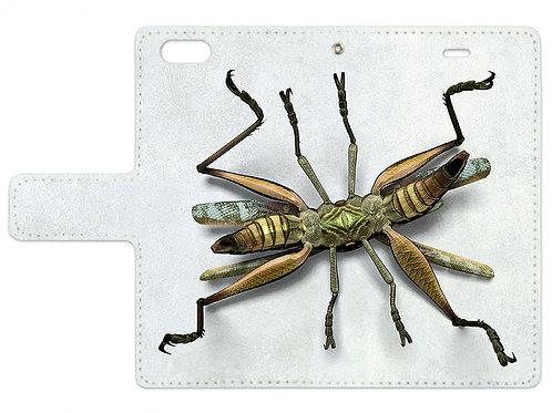 Locust | Notebook style iPhone case (6/6s)