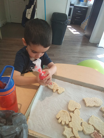 Learning Density through Baking