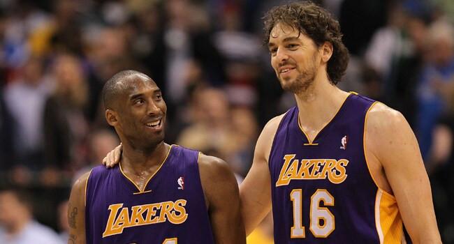 Pau_Gasol_Kobe_Bryant_Los_Angeles_Lakers_NBA_Around_the_Game