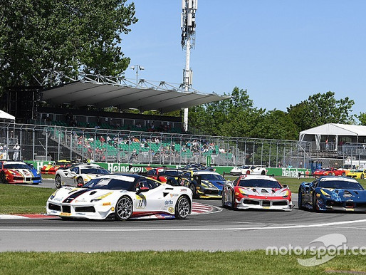Ferrari Challenge leaves Montreal after action-packed weekend