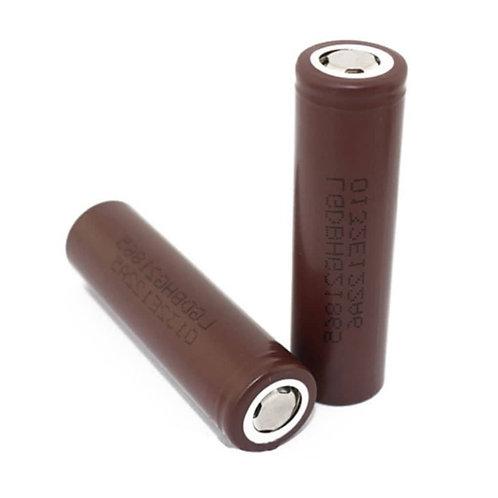 LG HG2 18650 Battery, 3000mAh, 20A, 3.6V, Lithium-ion (LG18650HG2)