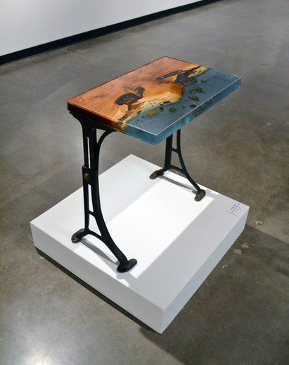Resin Side Table