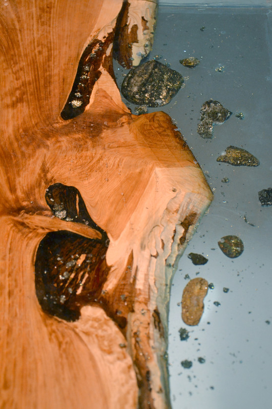 Detail, Resin Side Table