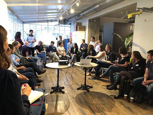 Work Tech talk meeting