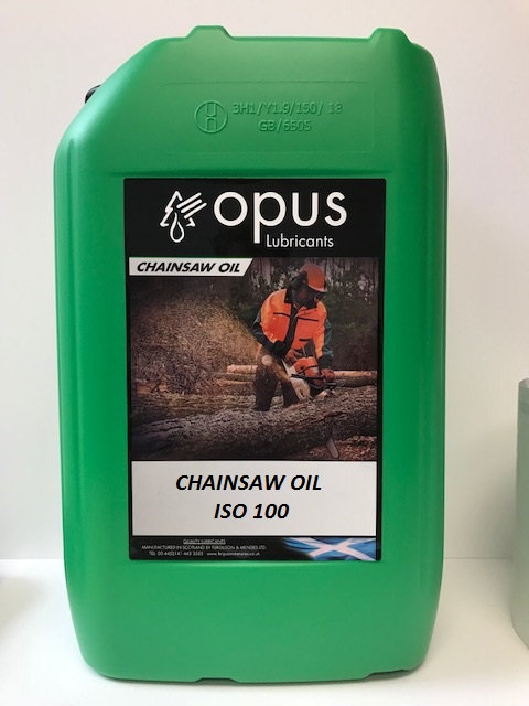 OPUS CHAINSAW OIL ISO 100 - 20