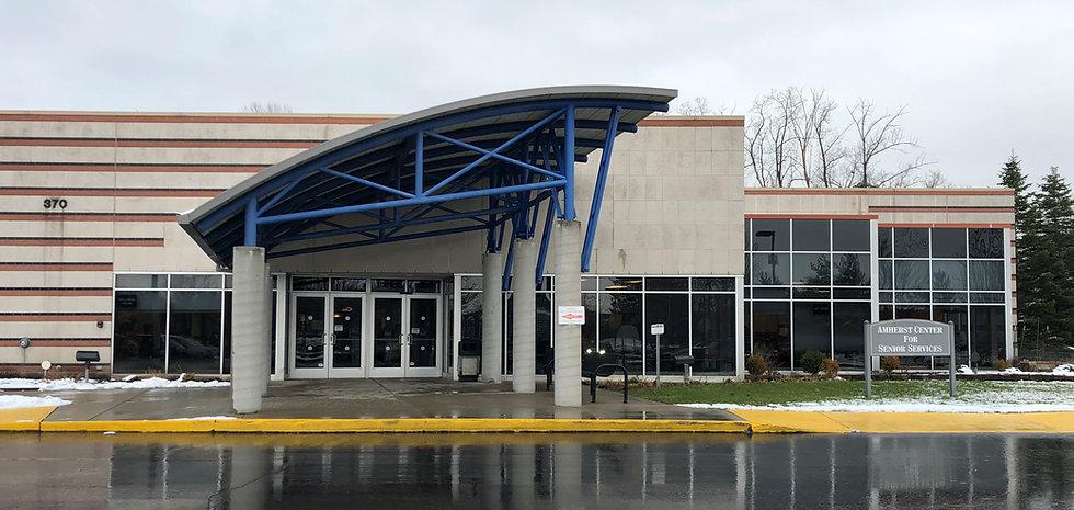 Amherst Center for Senior Services Building Exterior