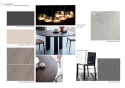 Living room - Kitchen concept