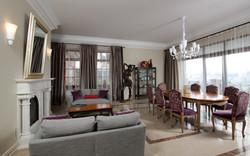 Artistic private house interior