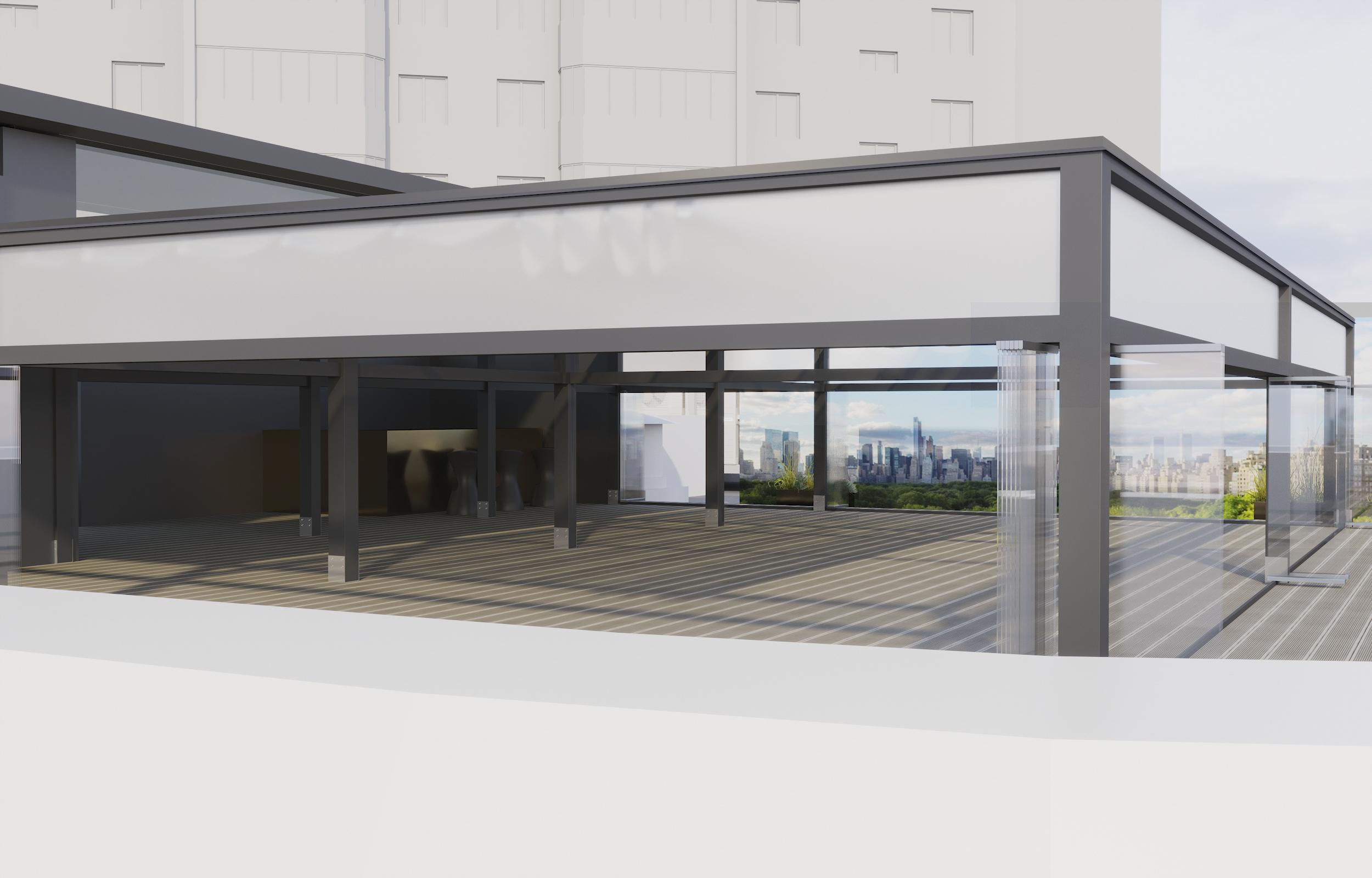 Terrace extention