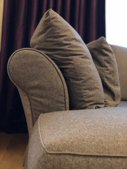 Sofa textures and forms